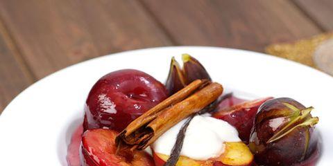 Food, Dishware, Produce, Serveware, Ingredient, Tableware, Plate, Fruit, Maroon, Dish,