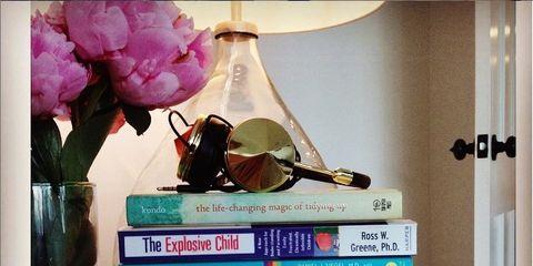 Petal, Interior design, Publication, Purple, Interior design, Violet, Magenta, Lavender, Lampshade, Book,