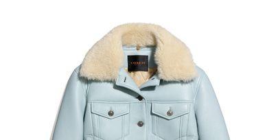 Clothing, Product, Collar, Sleeve, Jacket, Coat, Textile, Outerwear, White, Fashion,