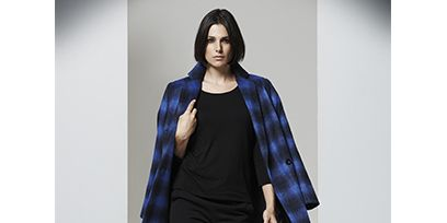 Clothing, Sleeve, Shoulder, Textile, Outerwear, Style, Pattern, Street fashion, Fashion, Electric blue,