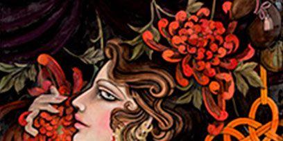 Cheek, Style, Art, Artwork, Visual arts, Fictional character, Illustration, Painting, Modern art, Mythology,