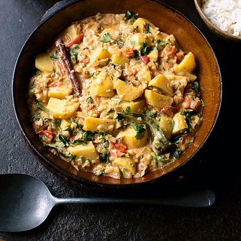 Keralan potato curry