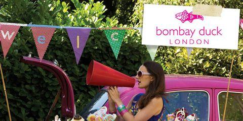 Pink, Purple, Magenta, Violet, Van, Outdoor table, Craft, Classic car, Fedora, Outdoor furniture,