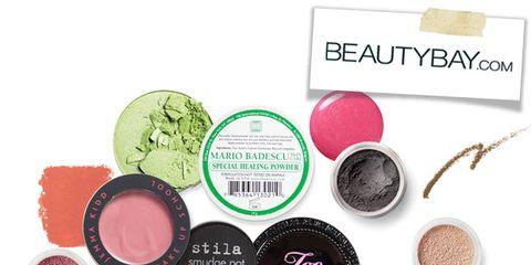 Pink, Magenta, Peach, Face powder, Circle, Cosmetics, Eye shadow, Glitter, Lipstick, Stationery,