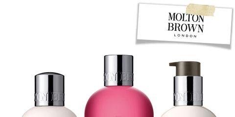 Liquid, Brown, Fluid, Skin, Bottle, Peach, Red, White, Pink, Magenta,