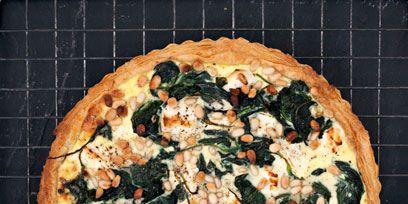 Food, Cuisine, Ingredient, Dish, Baked goods, Pizza, Recipe, Snack, Cooking, Pie,