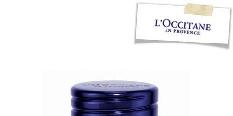 Product, Font, Logo, Bottle cap, Beige, Cobalt blue, Plastic, Label, Lid, Silver,