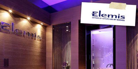 Lighting, Interior design, Purple, Interior design, Barber chair, Armrest, Houseplant, Cleanliness,