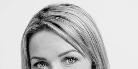 Nose, Lip, Hairstyle, Chin, Forehead, Eyebrow, Eyelash, Monochrome, Monochrome photography, Style,