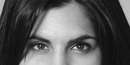 Hair, Nose, Lip, Cheek, Mouth, Eye, Hairstyle, Chin, Forehead, Eyebrow,