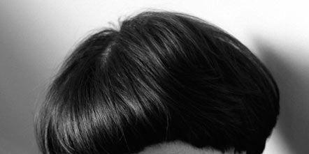 Nose, Lip, Hairstyle, Chin, Forehead, Eyebrow, Bangs, Mammal, Style, Eyelash,