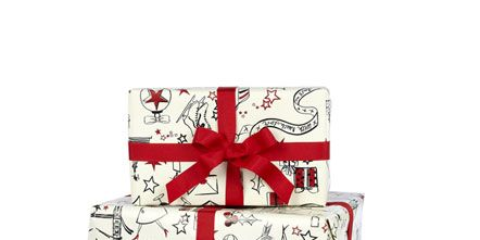 Ribbon, Gift wrapping, Present, Party favor, Christmas, Wedding favors, Confectionery, Party supply, Packing materials,
