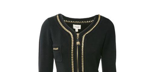 Sleeve, Sweater, Textile, Collar, Outerwear, White, Pattern, Jacket, Woolen, Fashion,