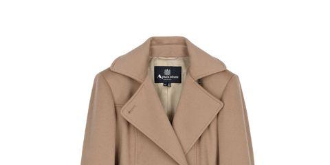 Clothing, Coat, Brown, Collar, Sleeve, Dress shirt, Textile, Outerwear, Khaki, Uniform,