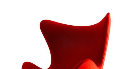 Product, Red, Chair, Carmine, Maroon, Plastic, Material property, Armrest, Still life photography, Office chair,