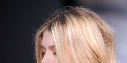 Lip, Hairstyle, Chin, Style, Eyelash, Step cutting, Beauty, Blond, Neck, Brown hair,