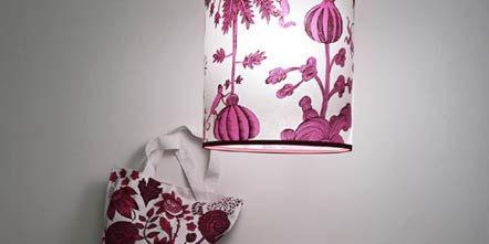 Textile, Room, Cushion, Interior design, Linens, Pattern, Pillow, Purple, Bedding, Throw pillow,