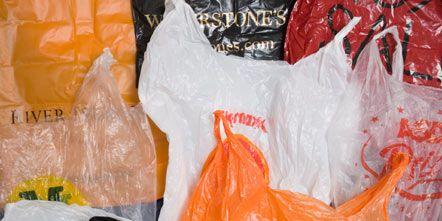 Plastic, Plastic bag, Orange, Peach, Packing materials, Plastic wrap,