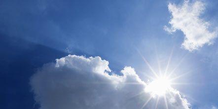 Blue, Sky, Daytime, Cloud, Atmosphere, Cumulus, Atmospheric phenomenon, Sunlight, Sun, Light,