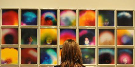 Human, Shoulder, Colorfulness, Wall, Purple, Art, Collection, Back, Violet, Lavender,