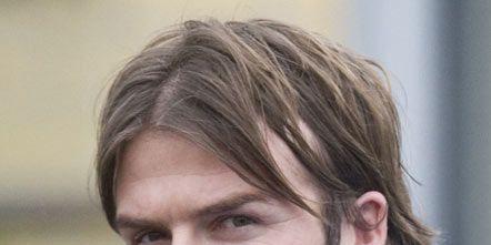 Nose, Facial hair, Cheek, Hairstyle, Chin, Forehead, Eyebrow, Moustache, Beard, Jaw,