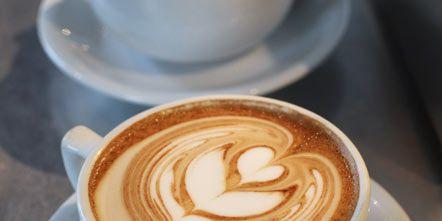Cup, Serveware, Drinkware, Espresso, Flat white, Single-origin coffee, Caffè macchiato, Coffee, Café, Drink,