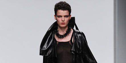 Sleeve, Shoulder, Dress, Style, Fashion model, Fashion, Black, Jacket, Model, Fur,