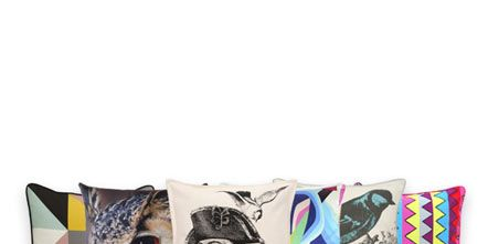Cushion, Throw pillow, Pillow, Illustration, Graphics, Painting, Creative arts, Graphic design, Linens,