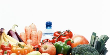 Vegan nutrition, Food, Local food, Whole food, Natural foods, Produce, Ingredient, Fruit, Food group, Basket,
