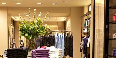 Floor, Room, Interior design, Flooring, Shelf, Closet, Outlet store, Retail, Boutique, Shelving,