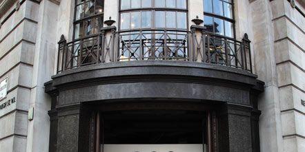 Facade, Iron, Balcony, Door, Metal, Brick, Cobblestone,