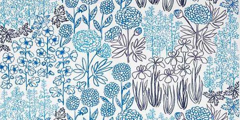 Blue, Green, Pattern, Teal, Aqua, Turquoise, Azure, Art, Visual arts, Design,