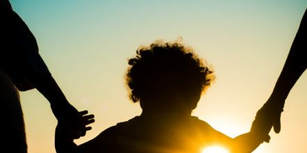 Standing, Rejoicing, People in nature, Backlighting, Sunlight, Silhouette, Gesture, Heat, Sun, Sunset,