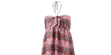 Product, Sleeve, Textile, Dress, Red, One-piece garment, Magenta, Clothes hanger, Pattern, Fashion,