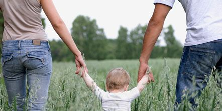 Grass, Denim, Trousers, Jeans, People in nature, Interaction, Gesture, Grass family, Flowering plant, Holding hands,