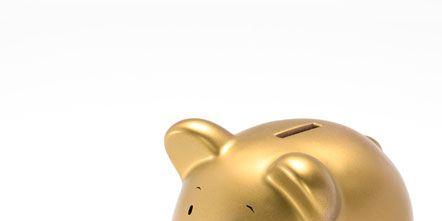 Saving, Yellow, Snout, Light, Animal figure, Suidae, Piggy bank, Toy, Beige, Fawn,