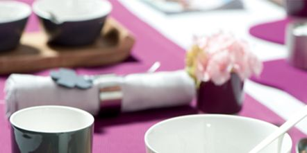 Serveware, Dishware, Purple, Pink, Violet, Porcelain, Tableware, Drinkware, Ceramic, Teal,