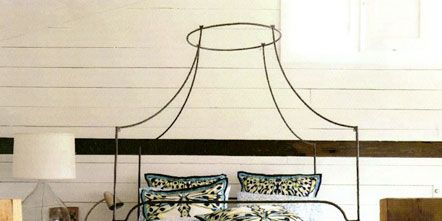 Room, Interior design, Bed, Art, Bed frame, Light fixture, Lighting accessory, Linens, Lampshade, Home accessories,