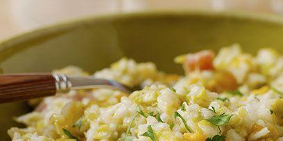 Food, Rice, Cuisine, Recipe, Staple food, Arborio rice, Ingredient, Dish, Kitchen utensil, Risotto,