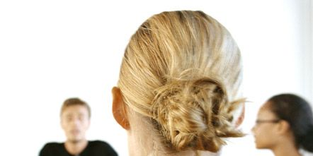 Hair, Head, Ear, Hairstyle, Shoulder, Joint, Style, Back, Temple, Neck,