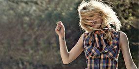 Plaid, Textile, Denim, Photograph, Jeans, Happy, Tartan, People in nature, Pattern, Street fashion,