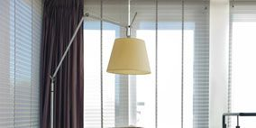 Wood, Interior design, Product, Room, Property, Architecture, Floor, Lampshade, Table, Furniture,