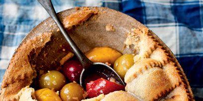 Food, Cuisine, Dish, Ingredient, Produce, Baked goods, Tableware, Fruit, Recipe, Snack,