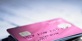 Electronic device, Pink, Magenta, Technology, Payment card, Metal, Gadget, Material property, Credit card, Mobile phone,