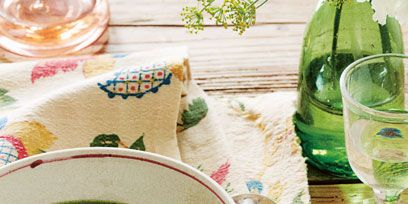 Green, Serveware, Drinkware, Dishware, Glass, Tableware, Ingredient, Table, Barware, Wine glass,