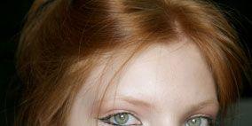 Hair, Lip, Cheek, Earrings, Brown, Hairstyle, Skin, Chin, Forehead, Eyelash,
