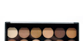 Brown, Orange, Amber, Tints and shades, Light, Beige, Peach, Rectangle, Paint, Eye shadow,
