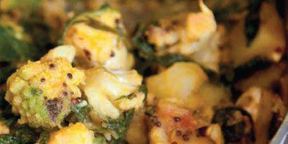 Food, Ingredient, Recipe, Leaf vegetable, Cuisine, Dish, Stuffing, Comfort food, Cooking, Cruciferous vegetables,