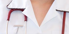 Collar, Dress shirt, White, Button, Circle, Silver, Measuring instrument,