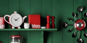 Red, Wall, Coquelicot, Paint, Maroon, Shelving, Shelf, Still life photography, Cylinder, Plastic,